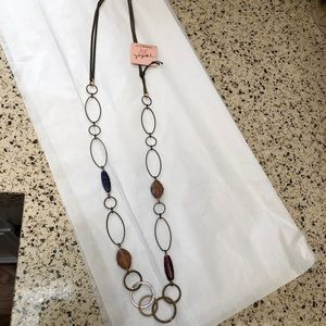 NWT Rustic Handmade Necklace from Nordstrom